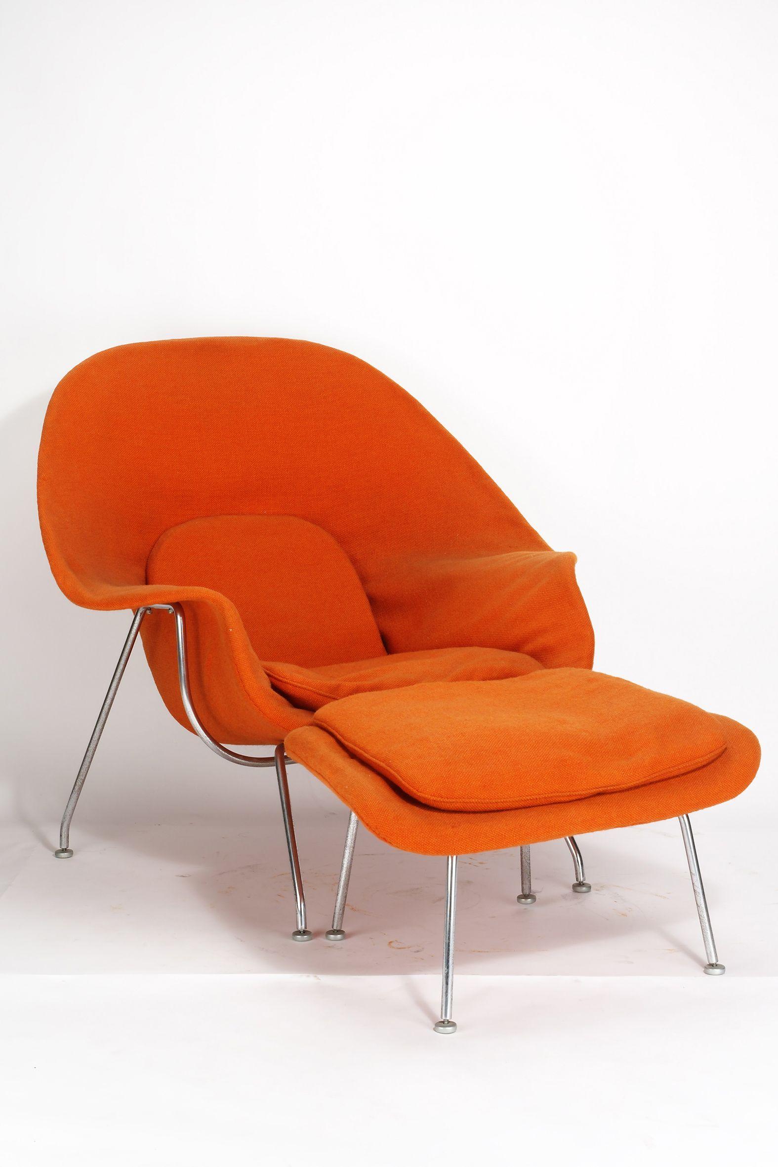 Eero Saarinen Womb Chair 1948 Scandinave Chaises Artistes Chaise Uterus