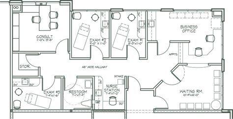 Medical Office Design Plan Newer Features Nearer
