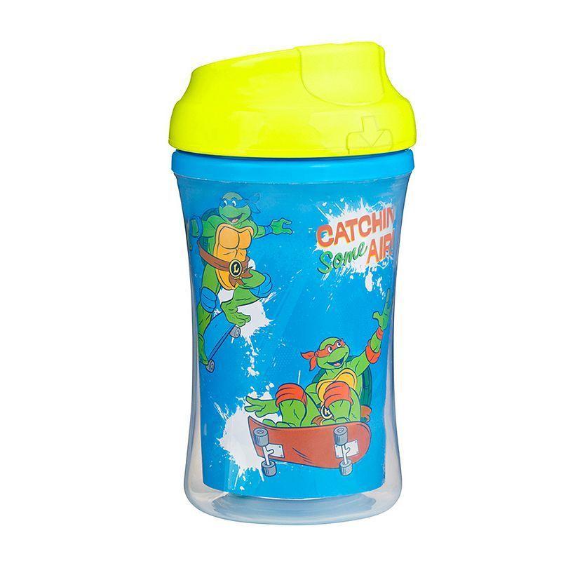 Gerber Graduates Teenage Mutant Ninja Turtles 9 Ounce Insulated Cup By Nuk Multicolor Teenage Mutant Ninja Turtles Toddler Gear Teenage Mutant Ninja