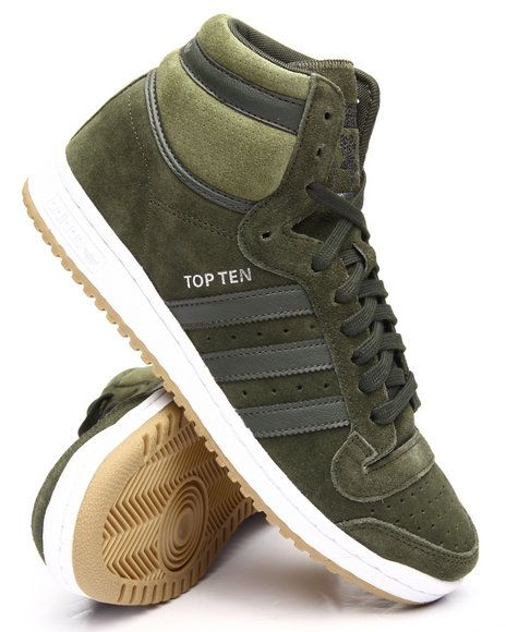 Find TOP TEN HI Men's Footwear from Adidas & more at DrJays. on Drjays.