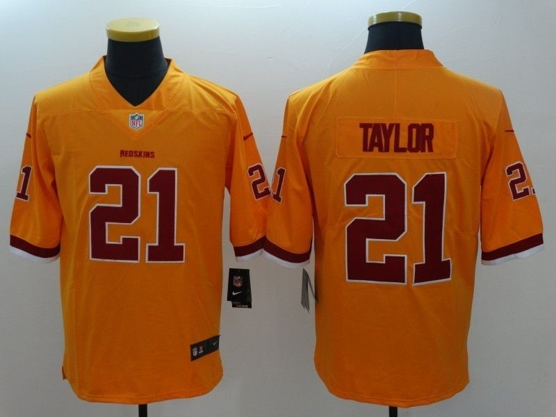 d08342c05 Washington Redskins  21 Sean Taylor Rush Limited Jersey