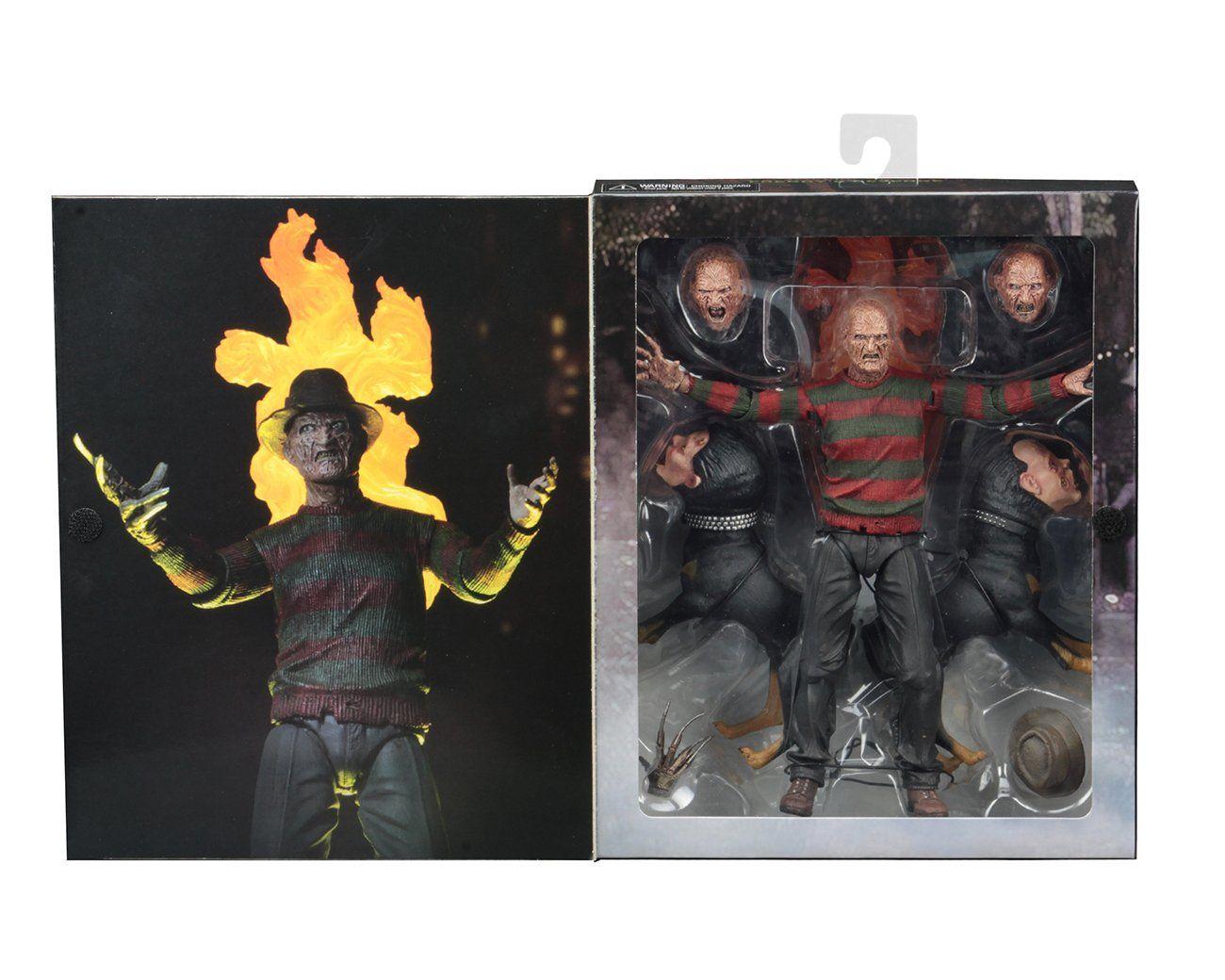 "ULTIMATE FREDDY 30th Anniversary NECA A Nightmare On Elm Street 2018 7/"" INCH"