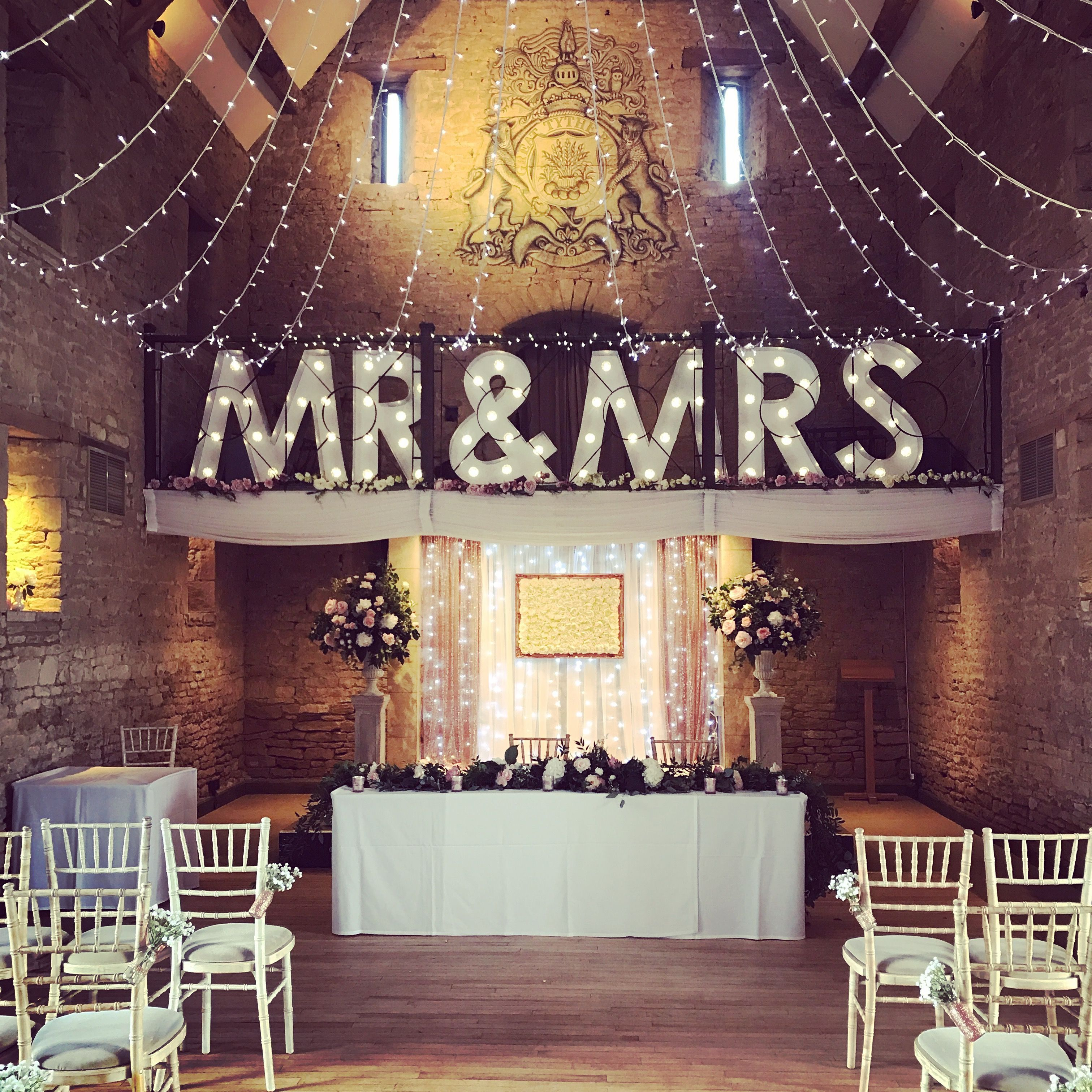 Civil Wedding Ideas: Pin By The Great Tythe Barn On Ceremony Set Ups