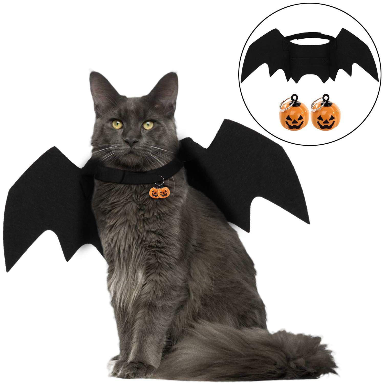 Legendog Cat Costume Halloween Bat Wings Pet Costumes Pet Apparel
