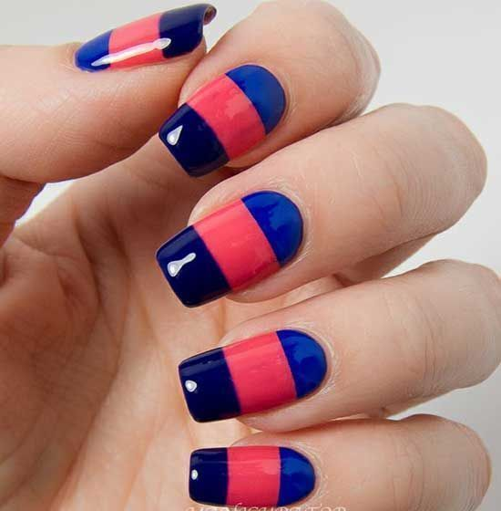 Untitled Tape Nail Art Fancy Nails Designs Simple Nail Art Designs