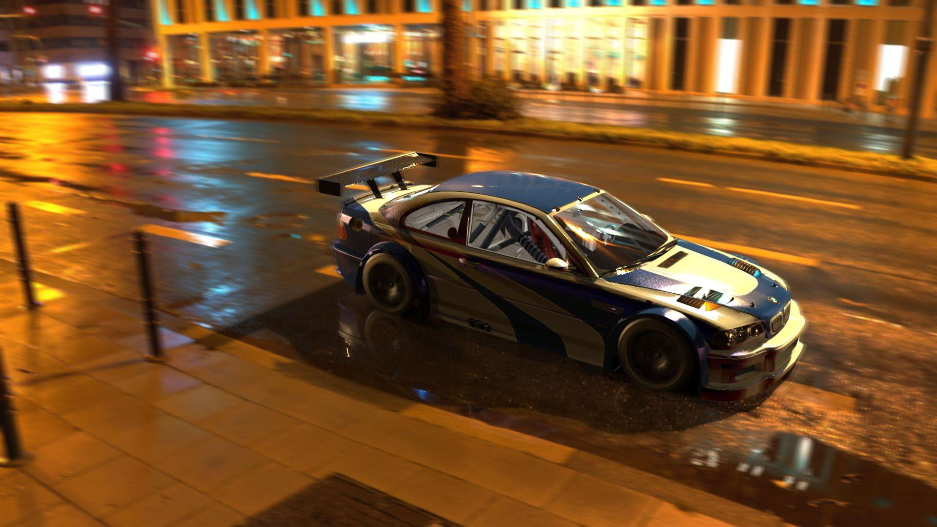 Bmw M3 Gtr Need For Speed Most Wanted Games Art Car 1080p Wallpaper Hdwallpaper Desktop M3 Gtr Bmw M3 Ford Mustang Gt