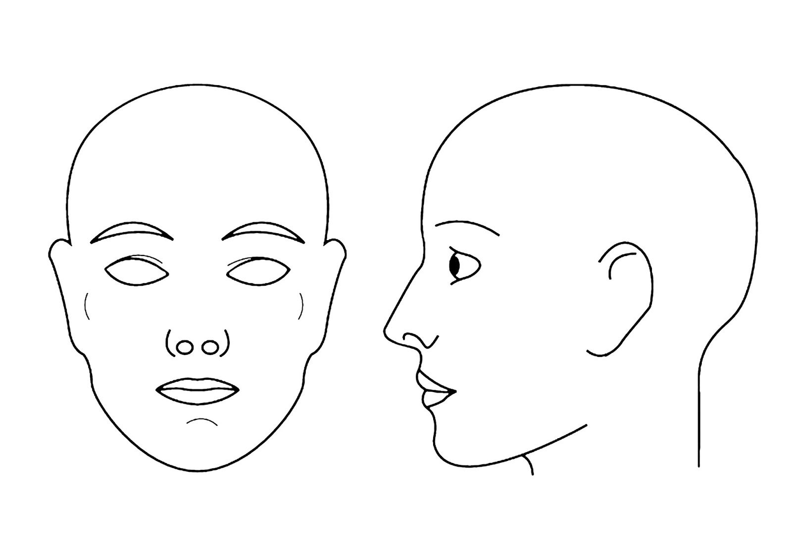 Uniblank Face Diagram