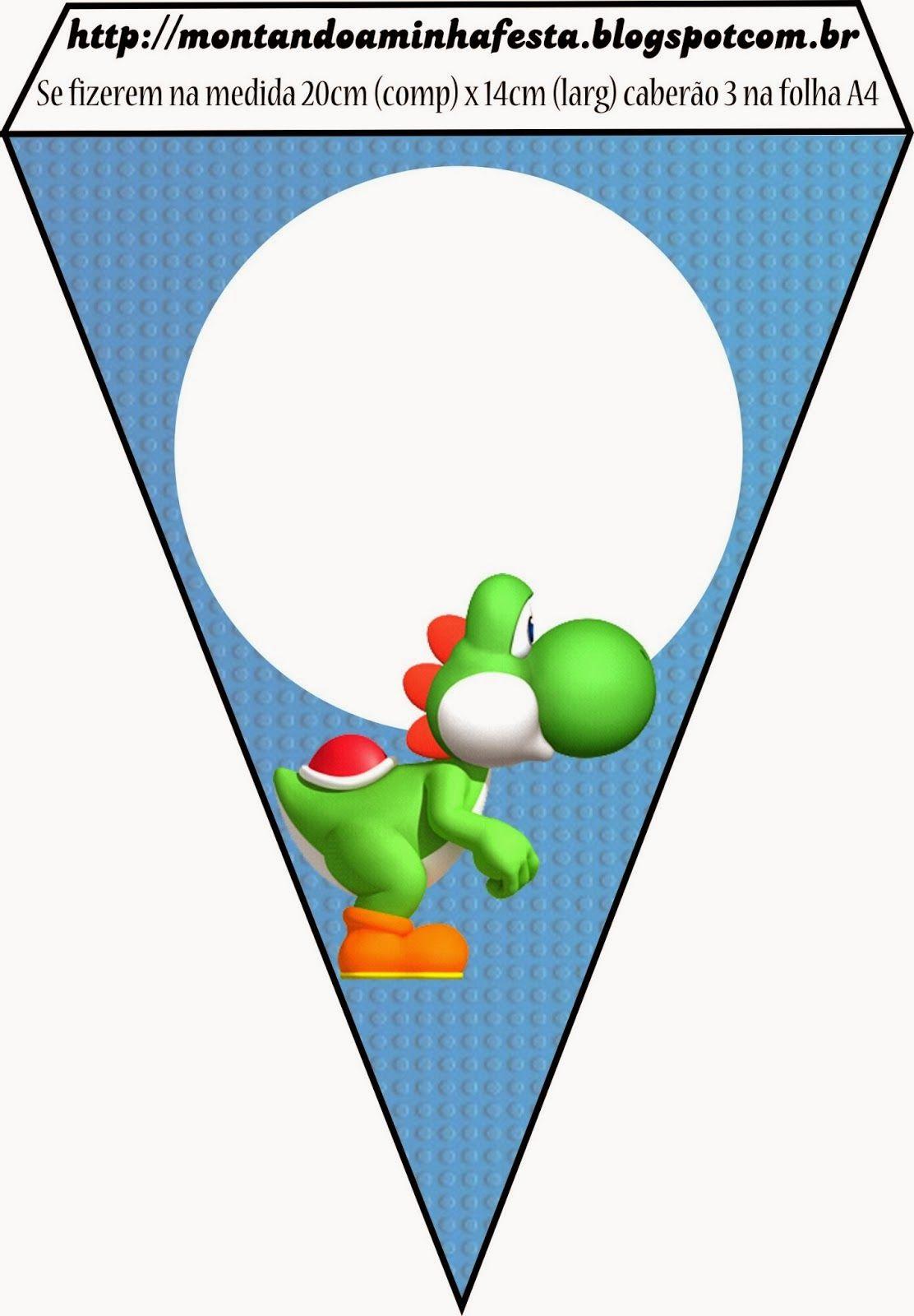 Free} Super Mario Bros Party Printables | Cumple de Micha ...