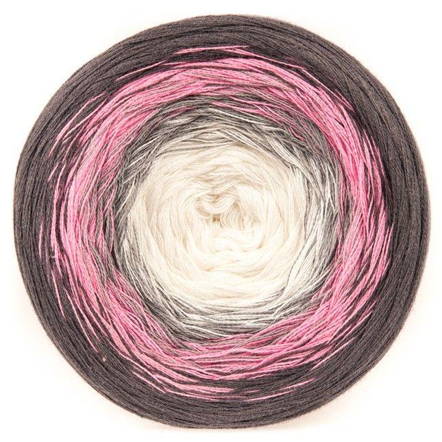 Twirls - Braun/Rosa/Weiß (03) Garn & Wolle Cotton Kings   Häkeln ...