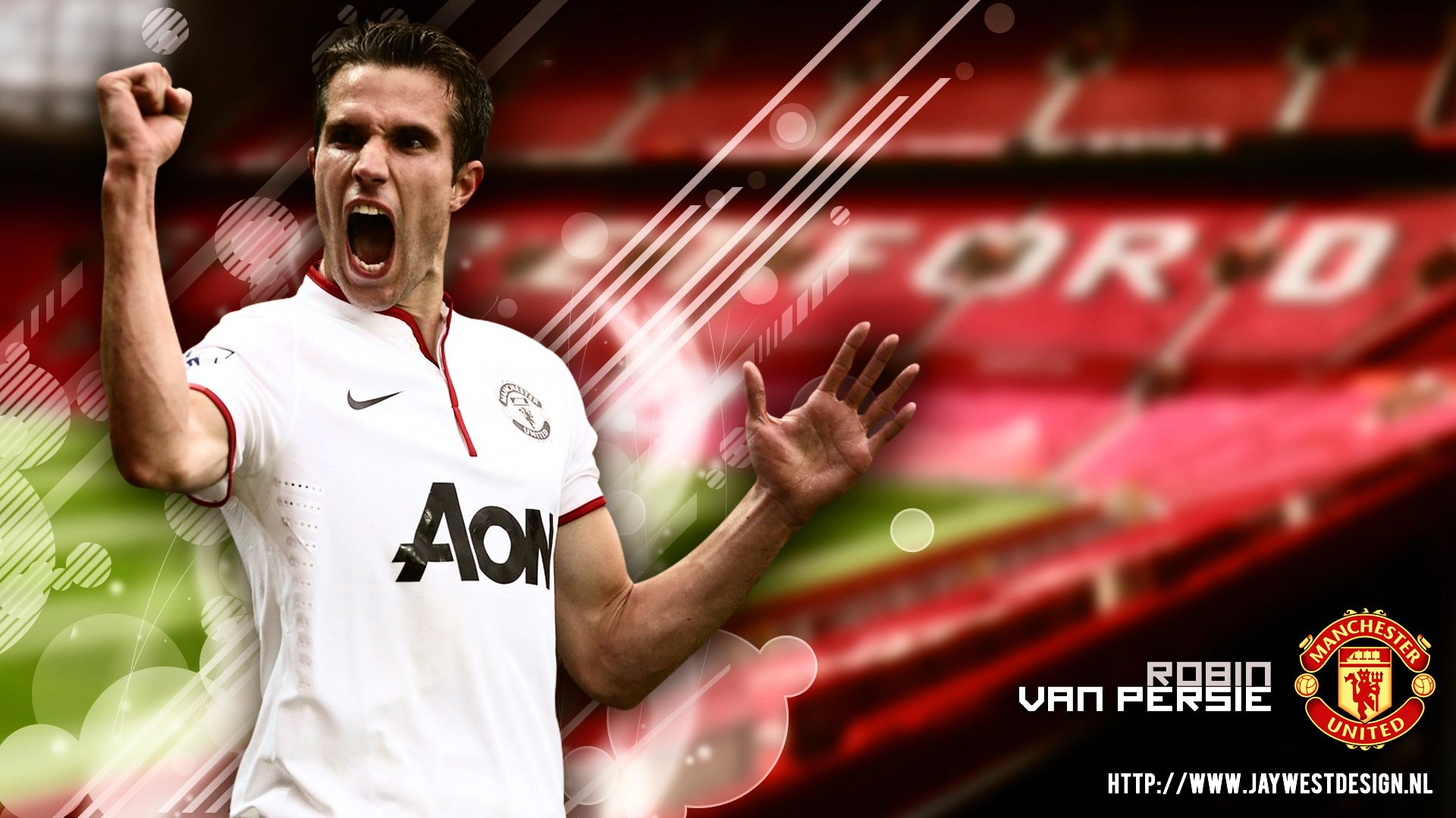 Get Best Manchester United Wallpapers Hd Wallpaper Robin Van Persie