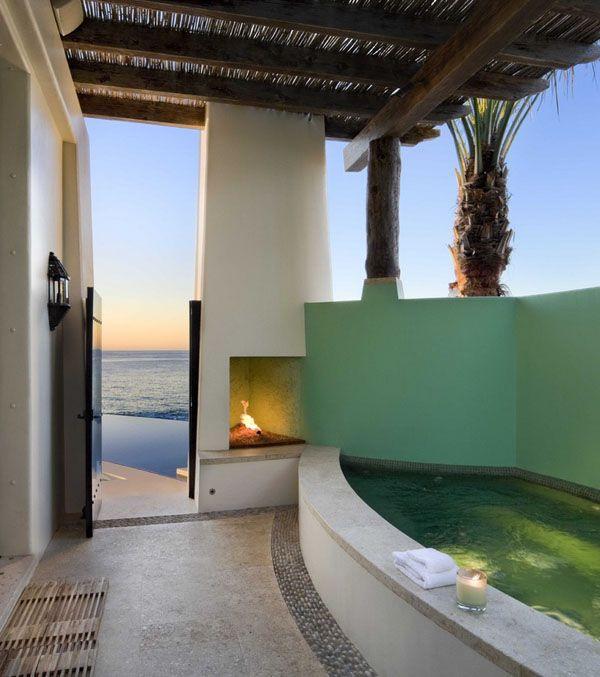 Tropical beach house retreat in Cabo San Lucas, Mexico