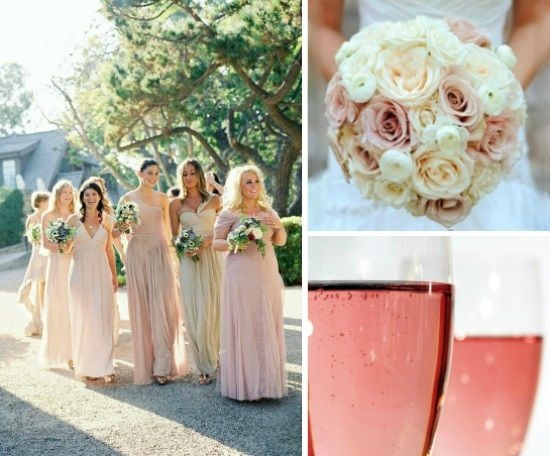 bridesmaid dresses color inspiration | My Wedding Inspiration ...