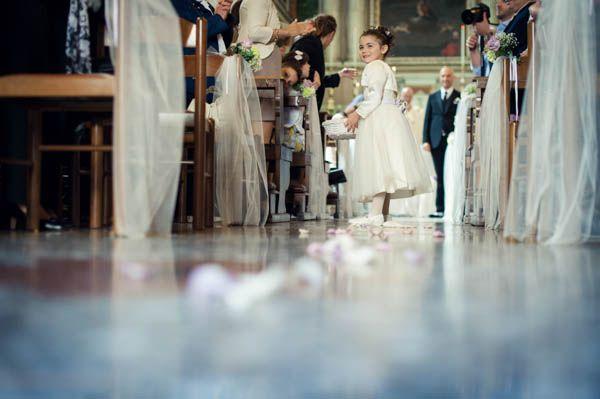 Un maggiolino e colori pastello per un matrimonio vintage: Tania e Cristian