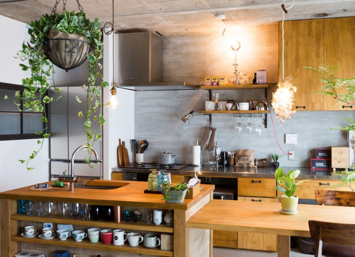 アイランド ペニンシュラ キッチンスタイルの種類と特徴 小さな