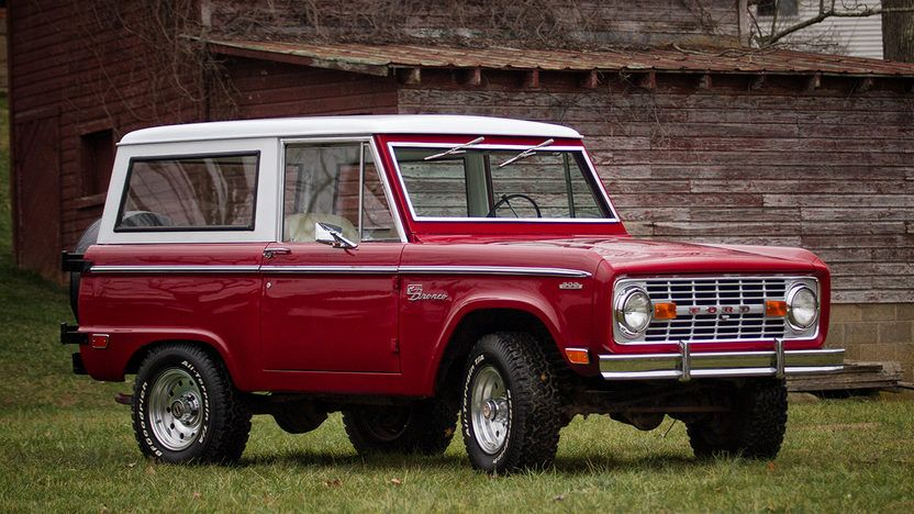 1969 Ford Bronco Sport presented as Lot T290 at Kissimmee