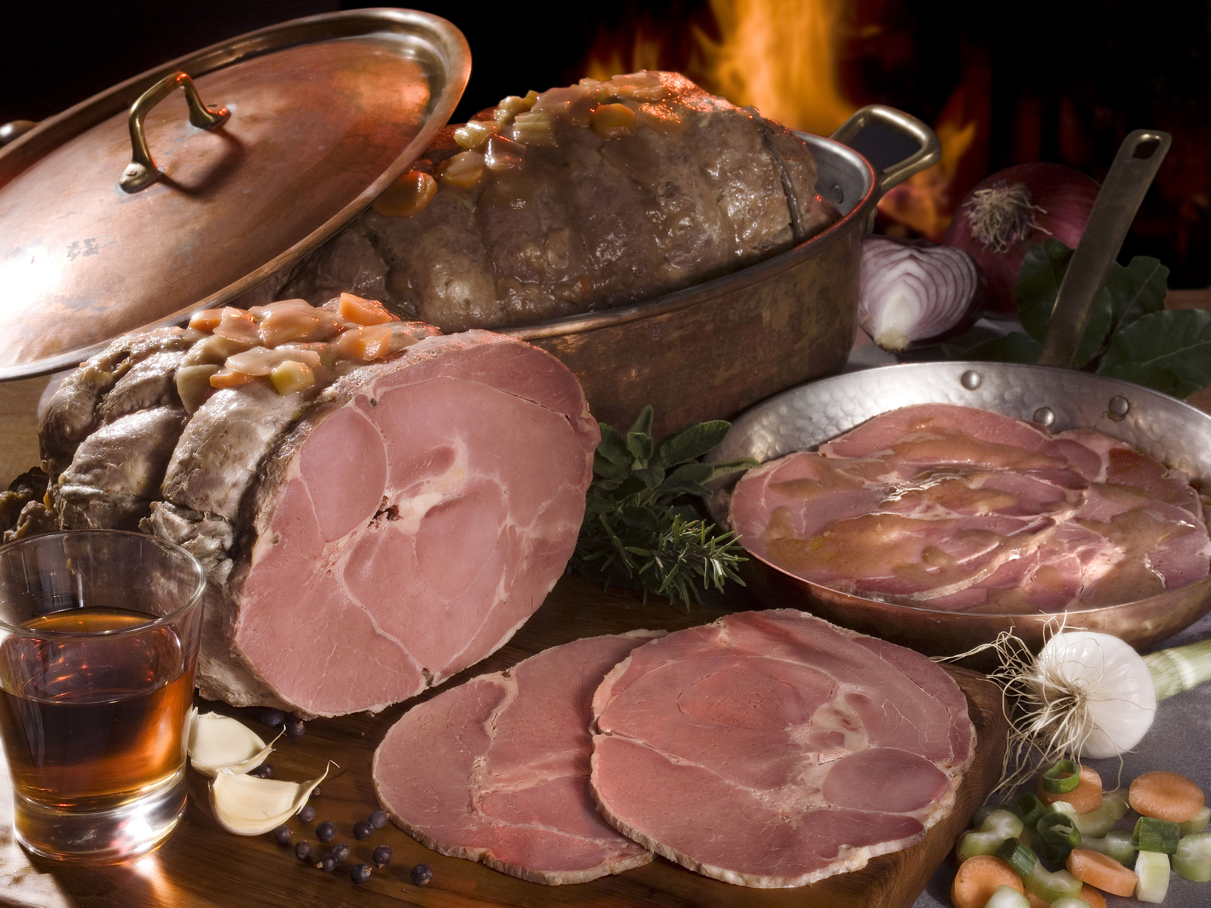 Stuffed Wild Boar With Sagrantino Wine Only Legs Of Wild Boar Without The Rind Coming From Farms Located In Umbria And Tuscany After The Rind Has Bee Carniceria
