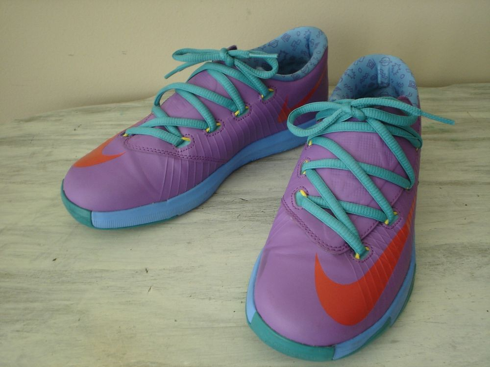 sports shoes d8f4c cf9c0 Nike KD Big Chucky 599478-500 Athletic Shoes Youth Size 3Y Kevin Durant  Excellen  fashion  clothing  shoes  accessories  kidsclothingshoesaccs   boysshoes ...