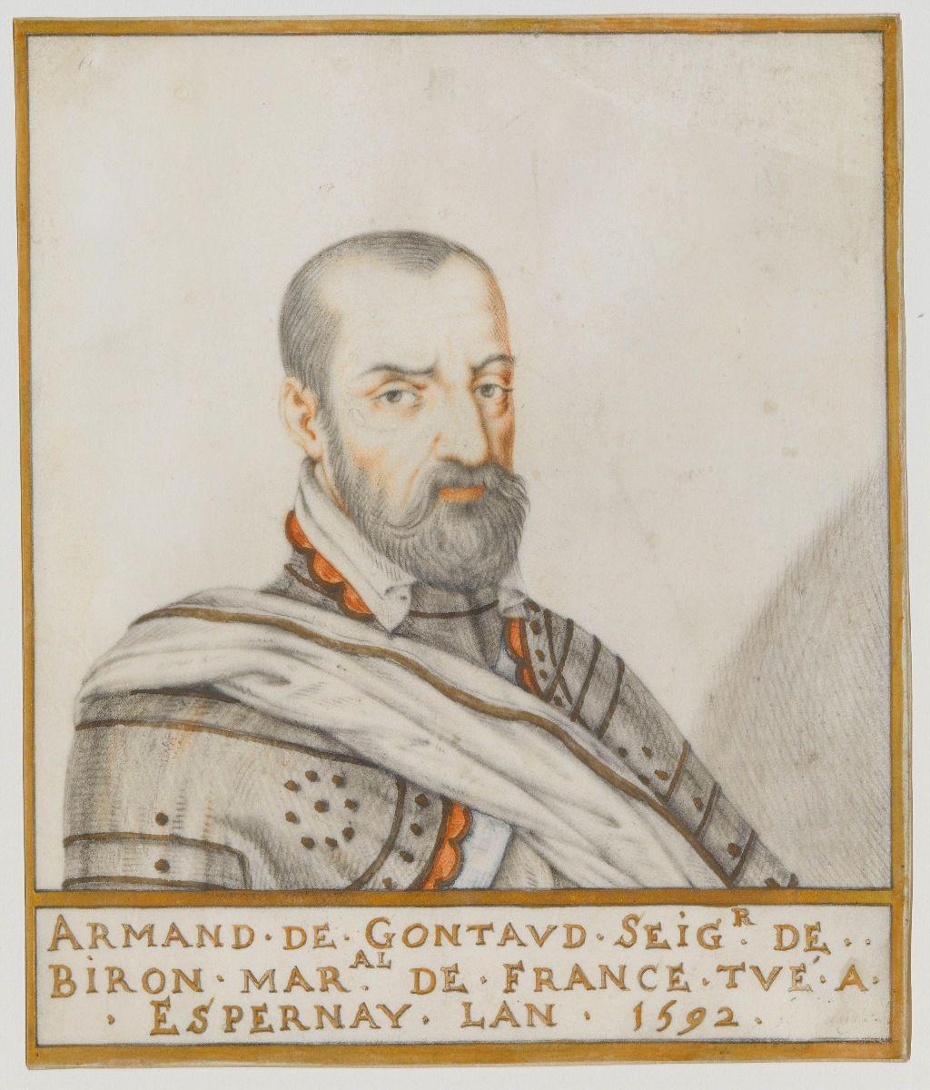 Portrait of Armand de Gontaud, baron de Biron