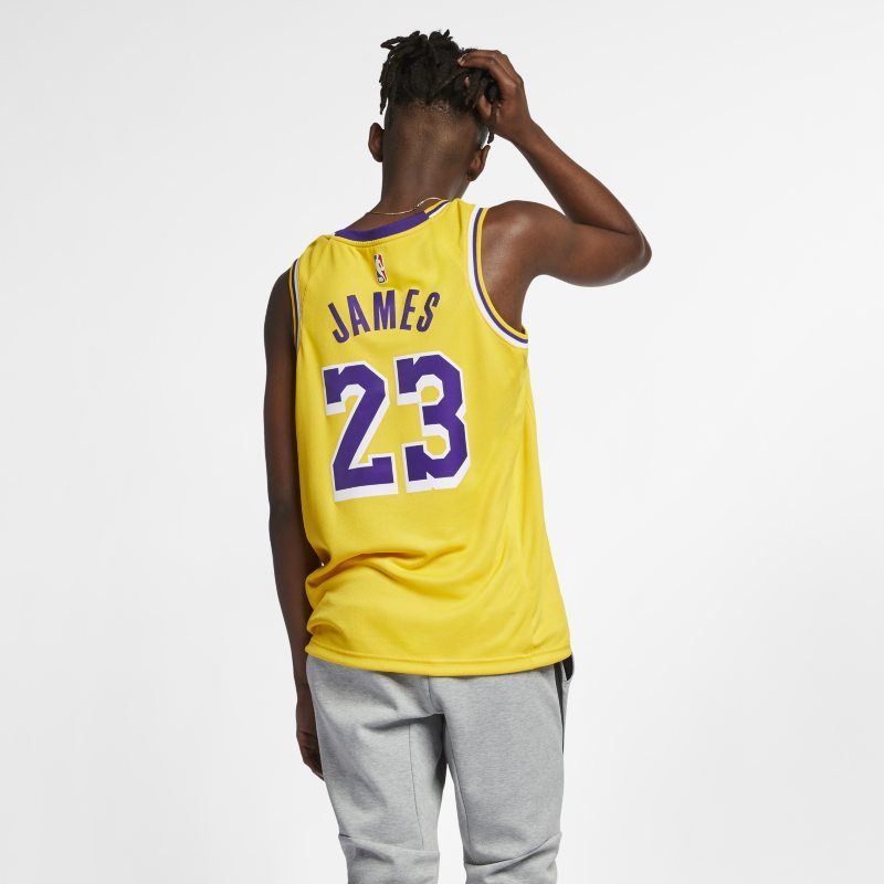 new product e511d f99b7 LeBron James Icon Edition Swingman (Los Angeles Lakers ...
