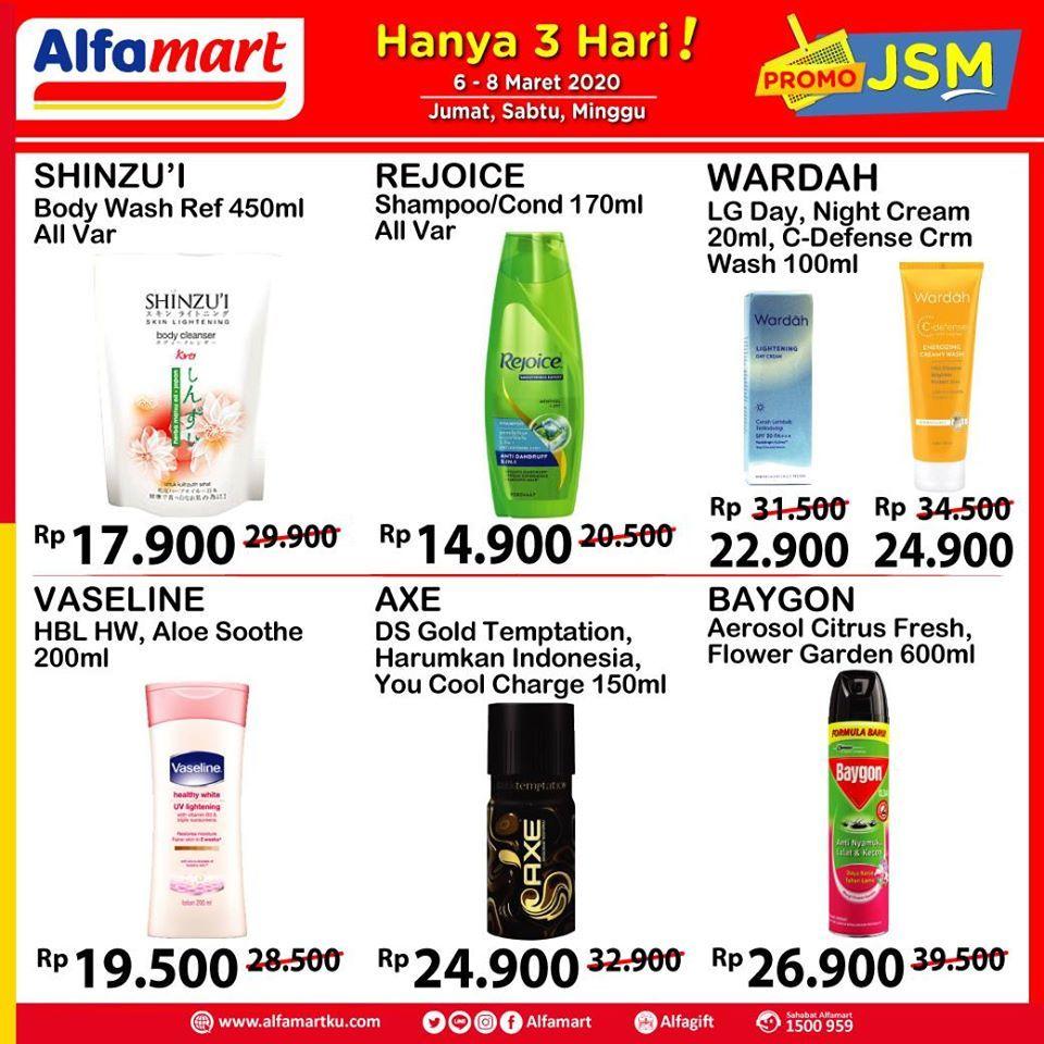 Promo Jsm Alfamart 6 8 Maret 2020 Di 2020 19 April Produk Brosur