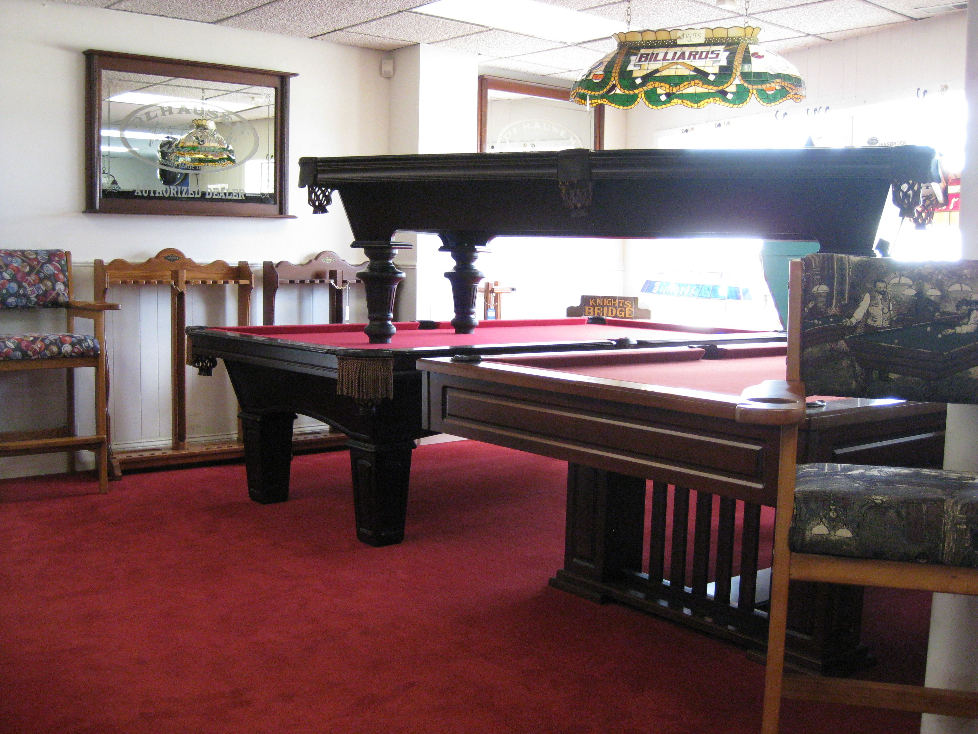 Many Different Styles Of Cue Racks To Match Your Pool Table CueN - Pool table store near me