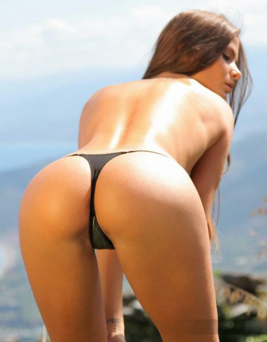 Women In Thongs Bent Over