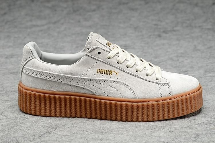 new photos 86c06 ab204 New arrive Puma by Rihanna Suede Creepers women's and men in ...