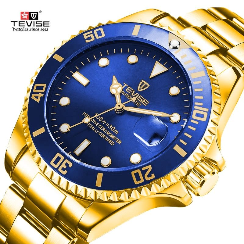 96ac8604f9b Discount Up to 50% Tevise Brand Men Mechanical Watches Automatic Watch  Fashion Sport Famous design