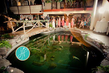 Indoor Ceremony At Longfellows Weddings Saratoga Springs Ny