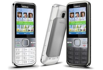 Nokia C5 has a Symbian S60 3rd Edition based cell phone, was