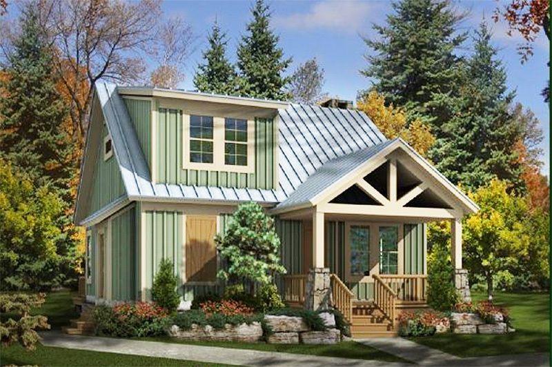 Plan 58550sv Adorable Cottage Cottage House Plans House Plans