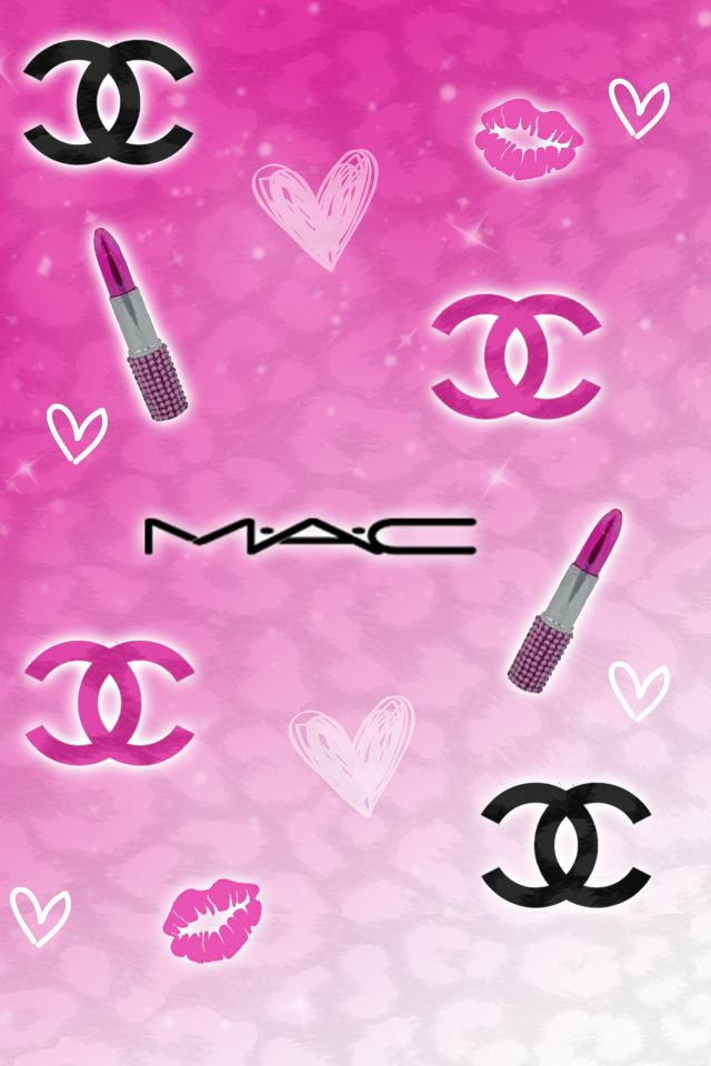 Chanel Fashion Logo Pink Pattern HD Wallpapers For IPhone Is A