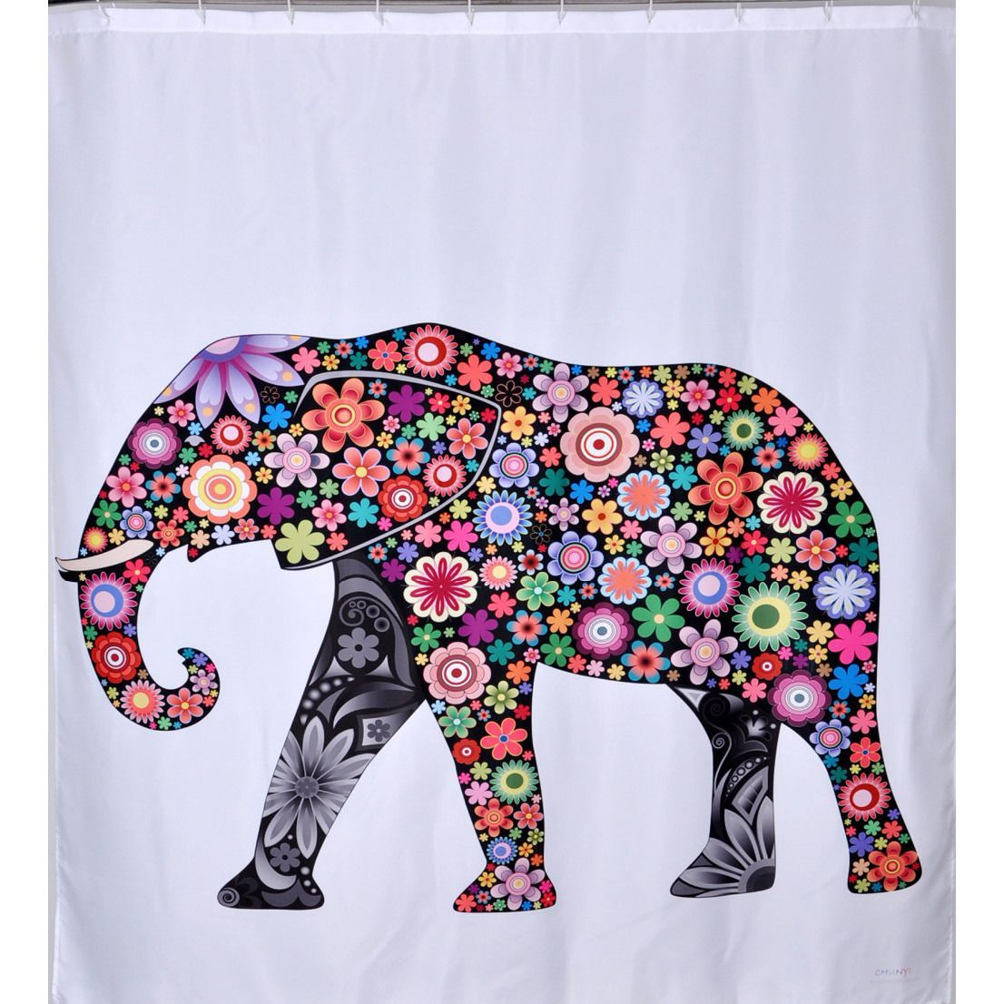 Elephant Shower Curtain Elephant Shower Curtains Printed Shower