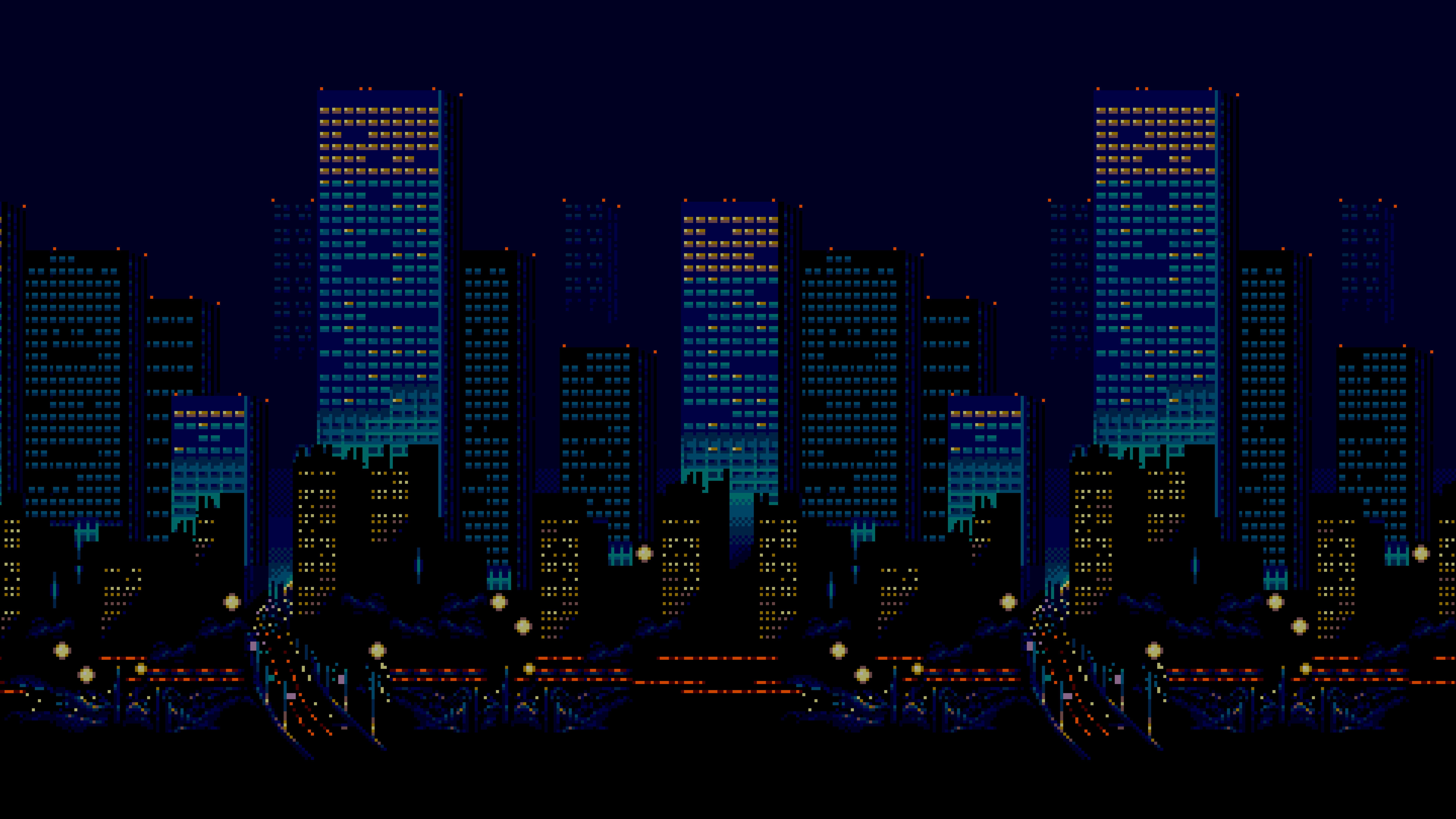 Https Img 4plebs Org Boards Hr Image 1493 83 1493831955370 Png City Skyline Night Pixel Art City Skyline