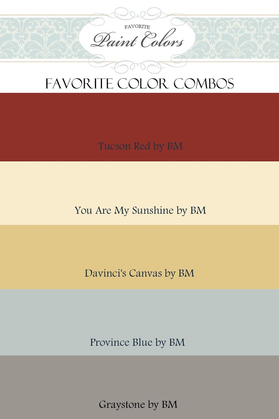 Paint colors - Love these! | Home | Pinterest | House, Room and ...