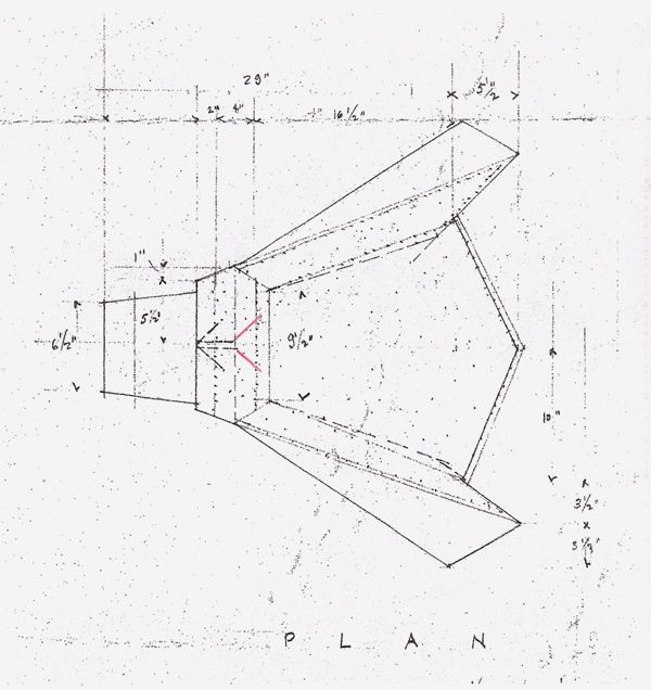 Wright Chat View Topic 1949 Taliesin Origami Chair Dimensions Sketches Drawing Diy Furniture Building Usonian Architecture Origami Chair