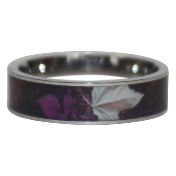Womens Purple Haven Camo Ring