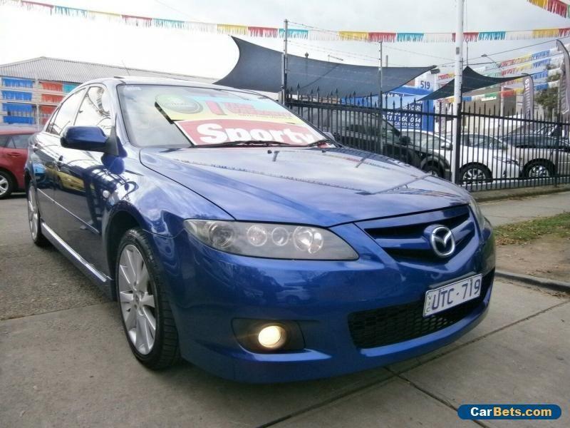 2007 Mazda 6 GG 05 Upgrade Luxury Sports Blue Automatic
