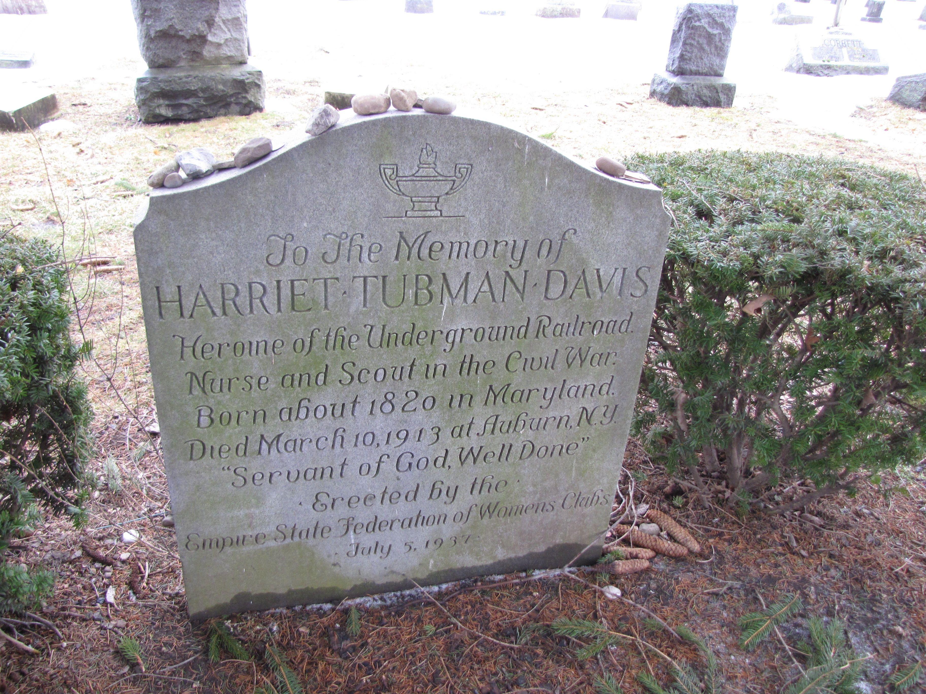 Harriet Tubman Gravesite, Fort Hill Cemetery, Auburn, Ny William Seward,  President Lincoln's