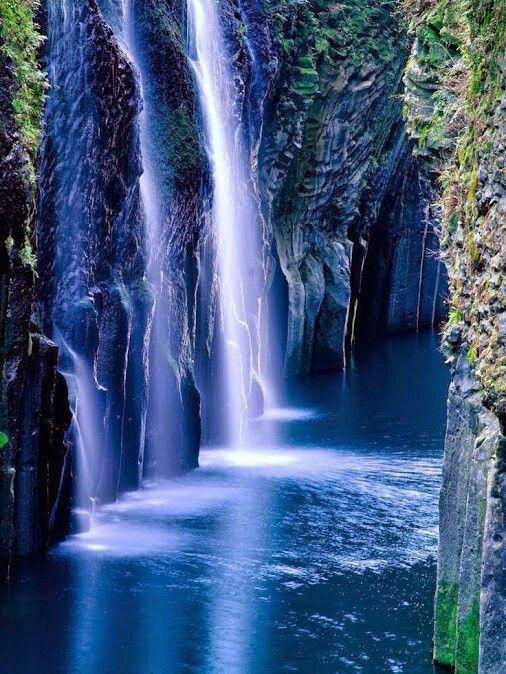 Peaceful Beautiful Nature Beautiful Waterfalls Scenery