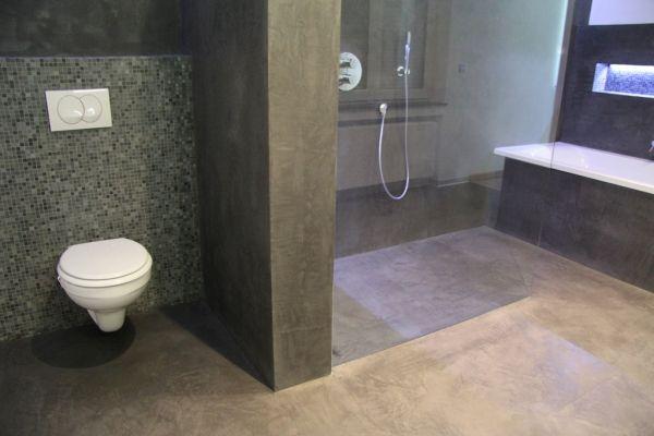 Sp cialiste mortex art ceramica applicateur agr e mortex mortex pinterest toilette - Revetement douche mur ...