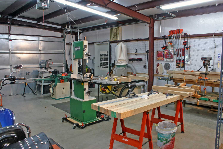 Woodshop Gereedskap Kaste Pinterest Garage Workshop Garage