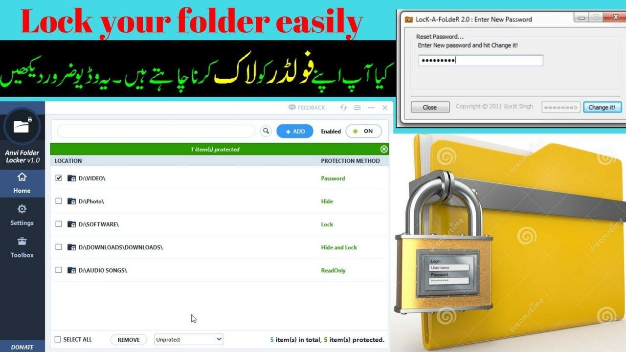 how to your lock folder in pc 2017 best software Work