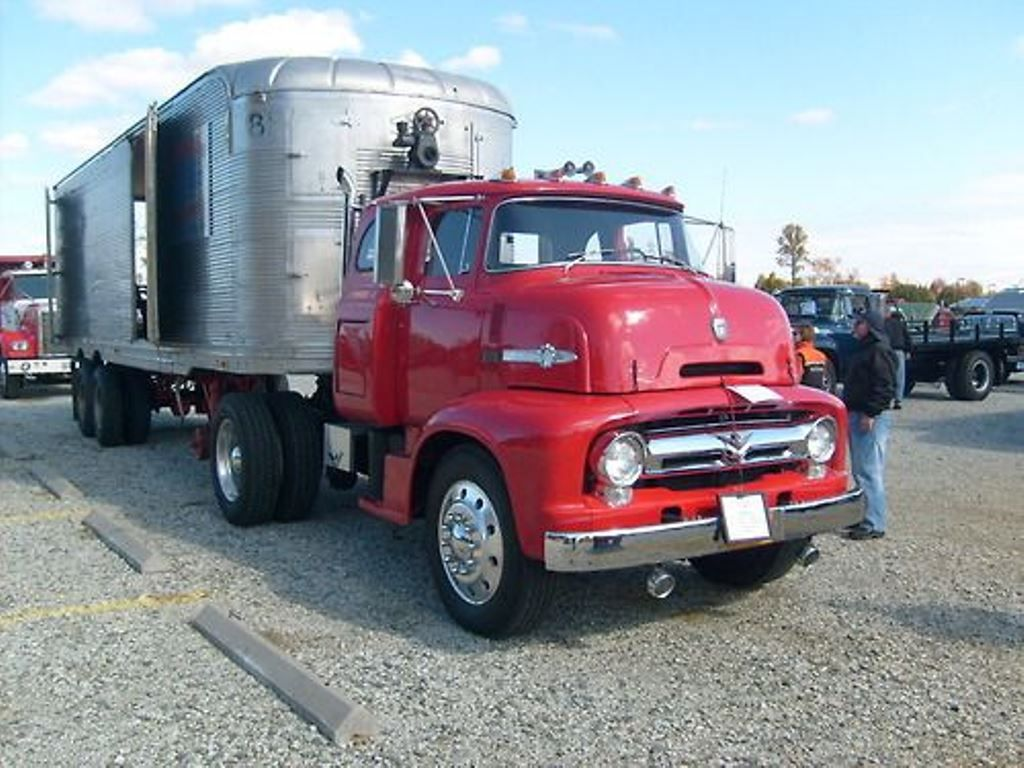 1956 ford coe c 800 tractor trailer 18 wheeler pinterest photos album and ford. Black Bedroom Furniture Sets. Home Design Ideas