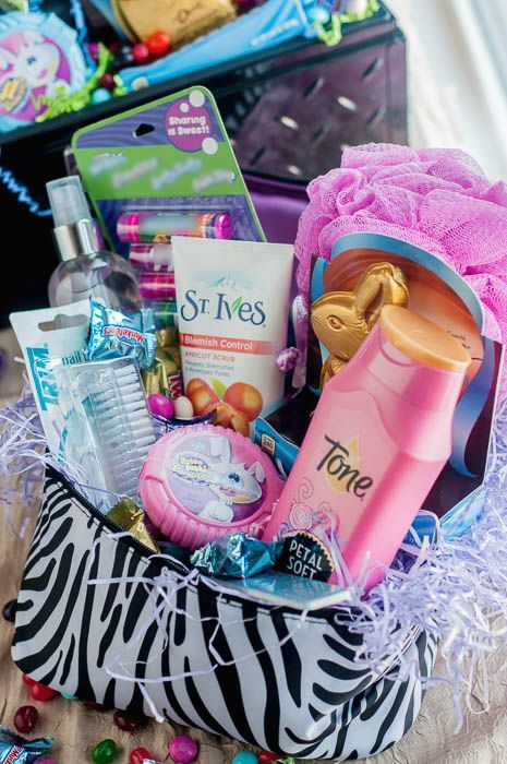 Teen girl easter basket idea gift ideas pinterest basket ideas teen girl easter basket idea negle Images
