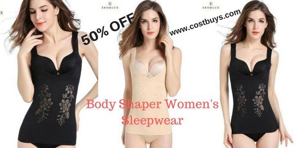 f4cddd7717357 Shaper Tops Waist Cincher Corset Shaper Breathable Body Shapers Women s  Sleepwear Slimming Tummy Control Tops
