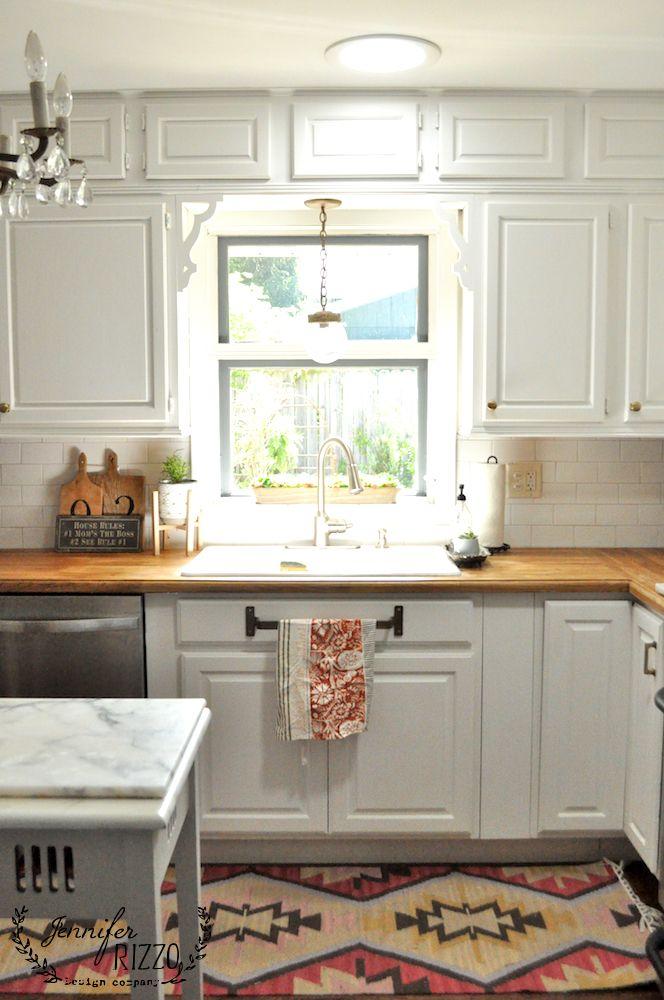 Kitchen Subway Tile Backsplash Reveal Kitchen Remodel Composite