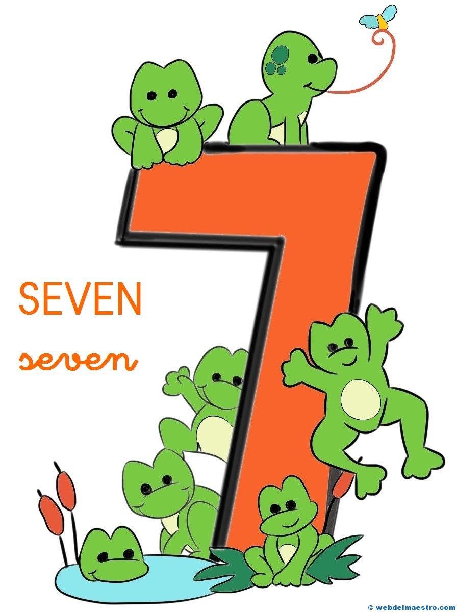 Números en inglés   Kindergarten