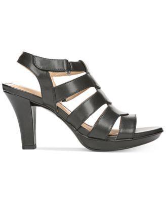 Naturalizer Dahlia Sandals - Black 7.5W. Black FabricDress ...