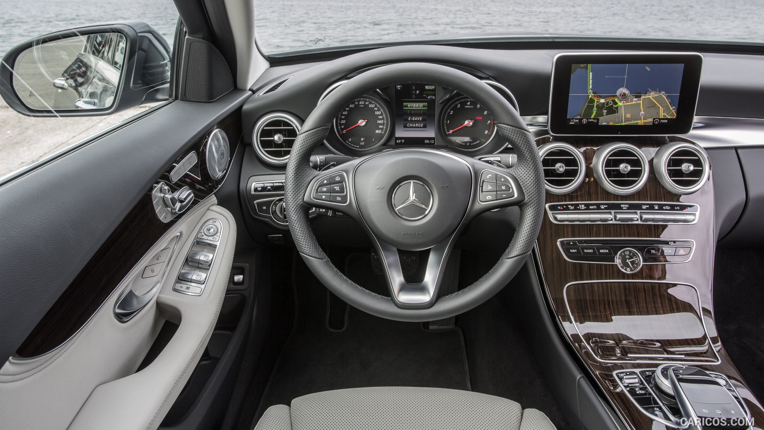 2017 Mercedes Benz C350e C Class Plug In Hybrid Us Spec Interior Cockpit Hd Mercedes Benz Mercedes Benz